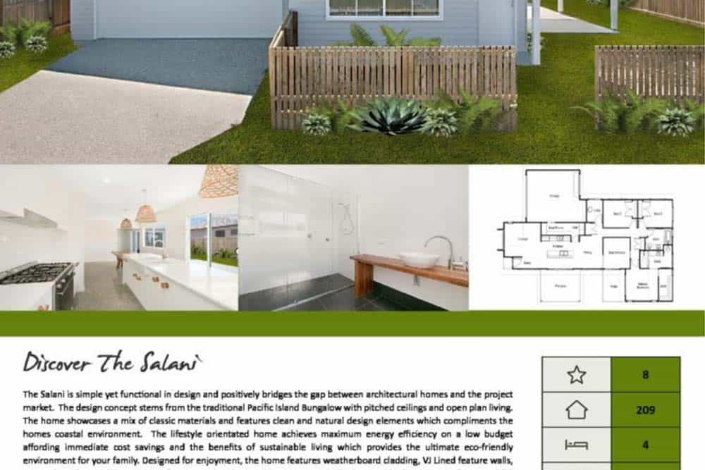The Salani Brochure