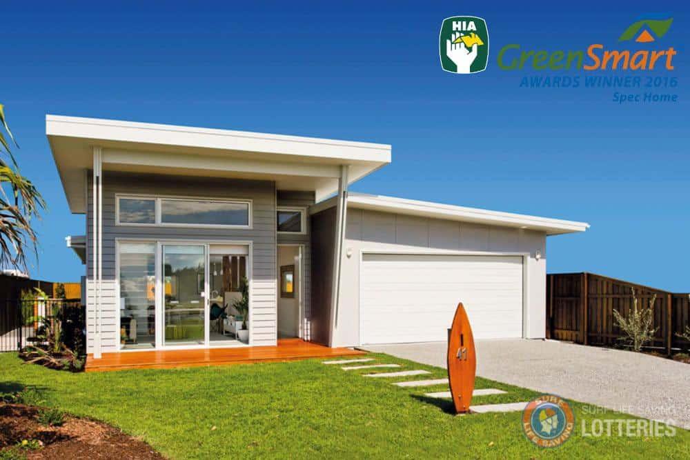eco home 2017 HIA Australian GreenSmart Spec Home of the Year