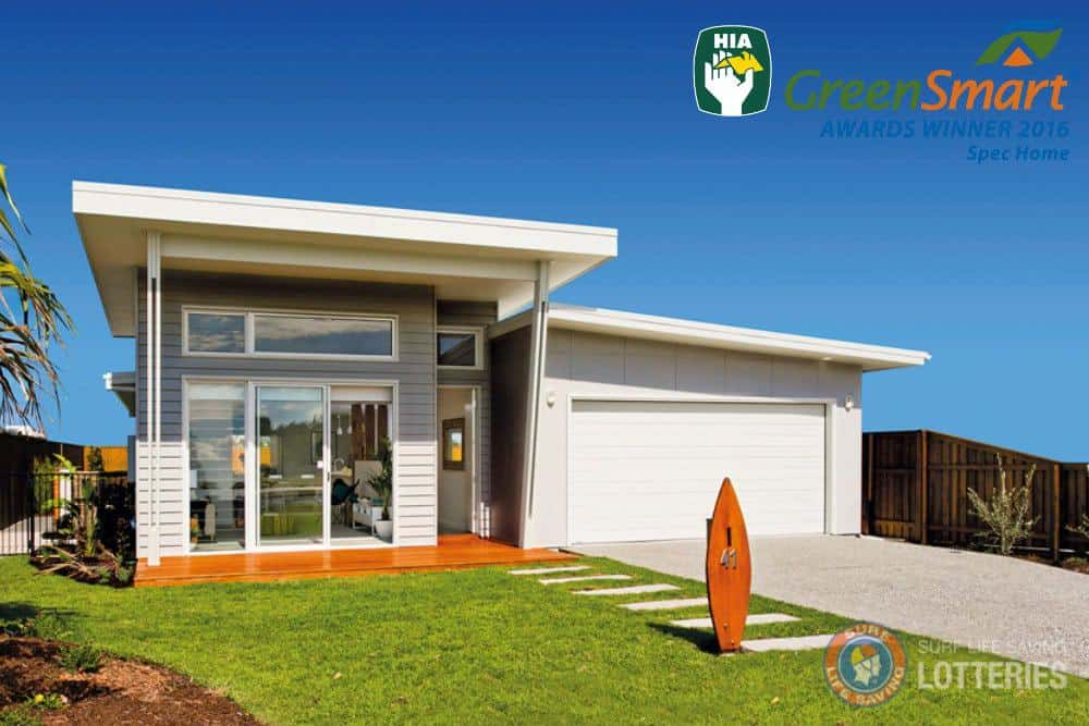 eco home 2017 HIA Australian GreenSmart Spec Home of the Year