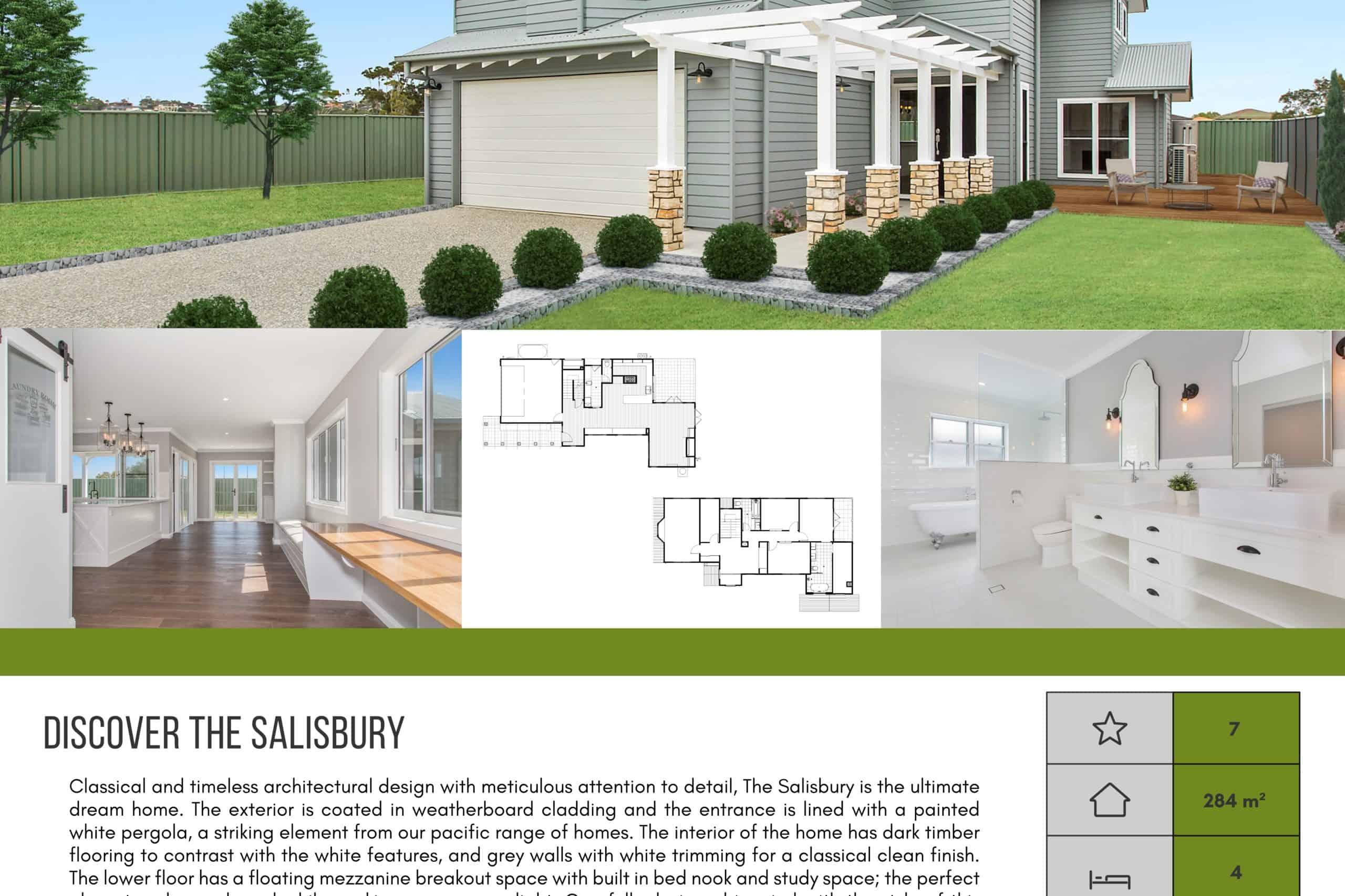 The Salisbury Download Brochure Thank You