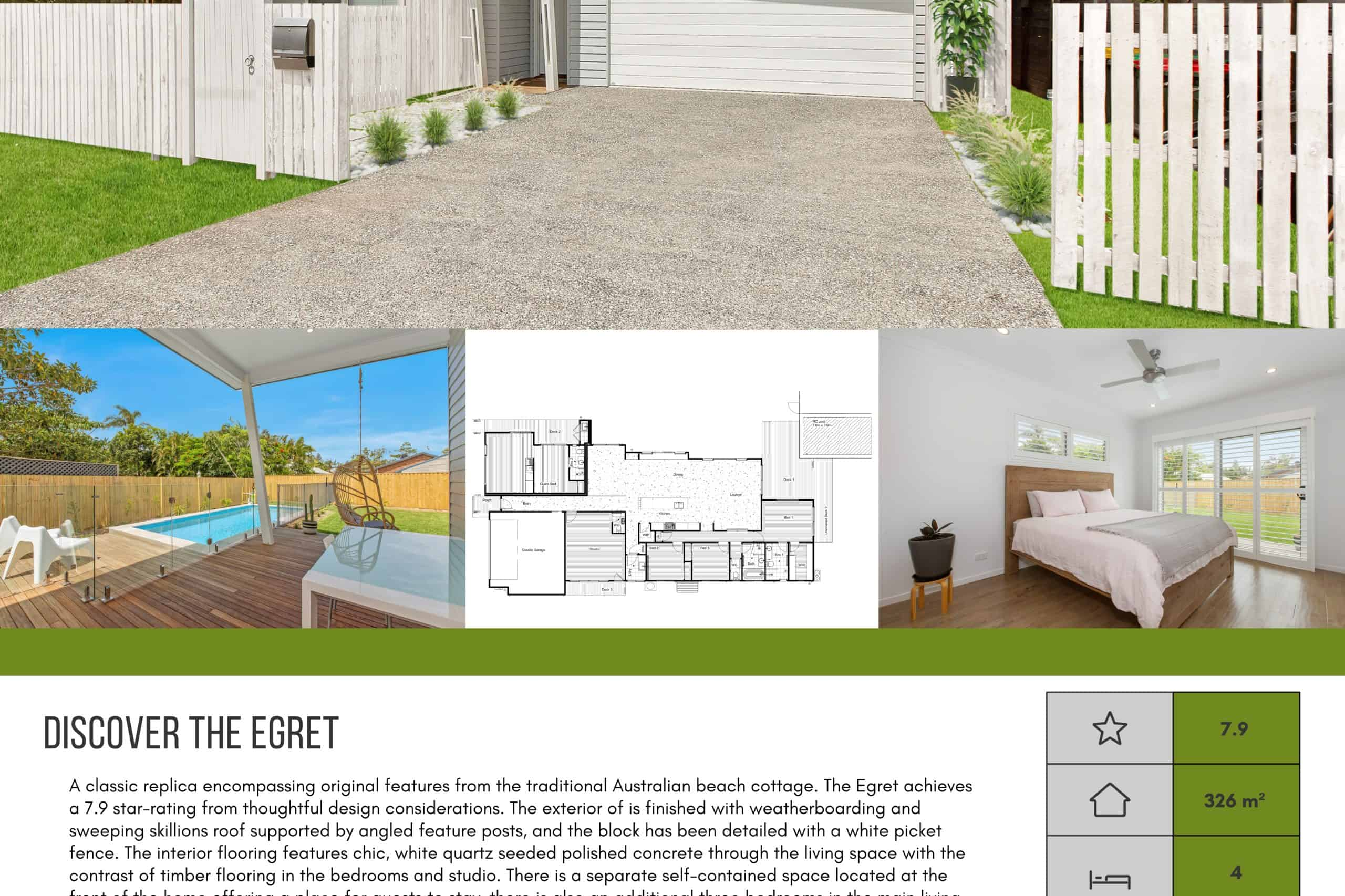 The Egret Brochure Download