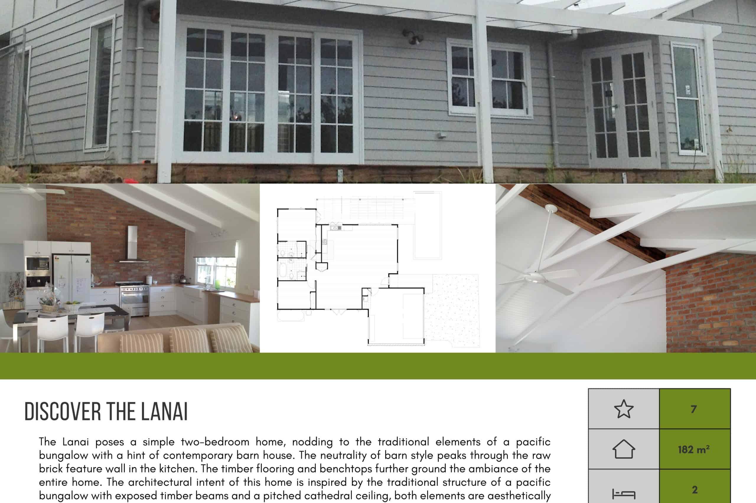 The Lanai Brochure Thank You